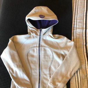 Lululemon Gray scuba hoodie 10